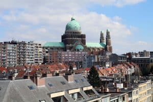 Brussels Lockdown City Basilica  - JessicaJohnson / Pixabay