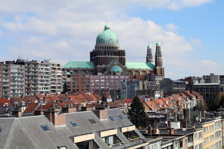 Brussels Lockdown City Basilica  - JessicaJohnson / Pixabay