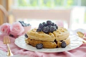 Waffles Breakfast Morning Berries  - JillWellington / Pixabay