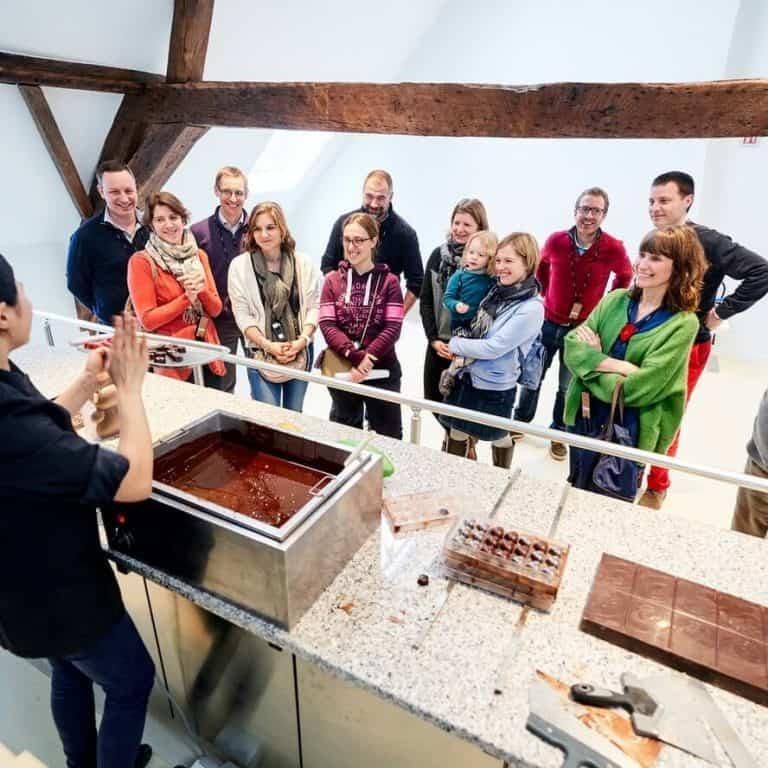 מוזיאון השוקולד בריסל