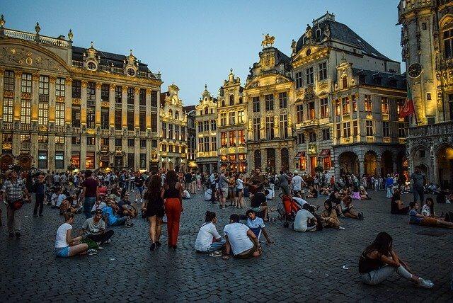 שופינג בעיר בריסל בלגיה